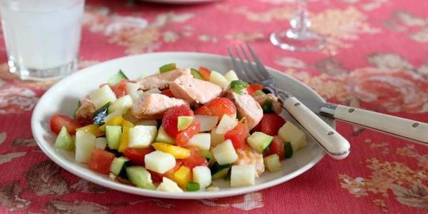 这样做三文鱼好吃不贵,营养太全面了,越吃越瘦了