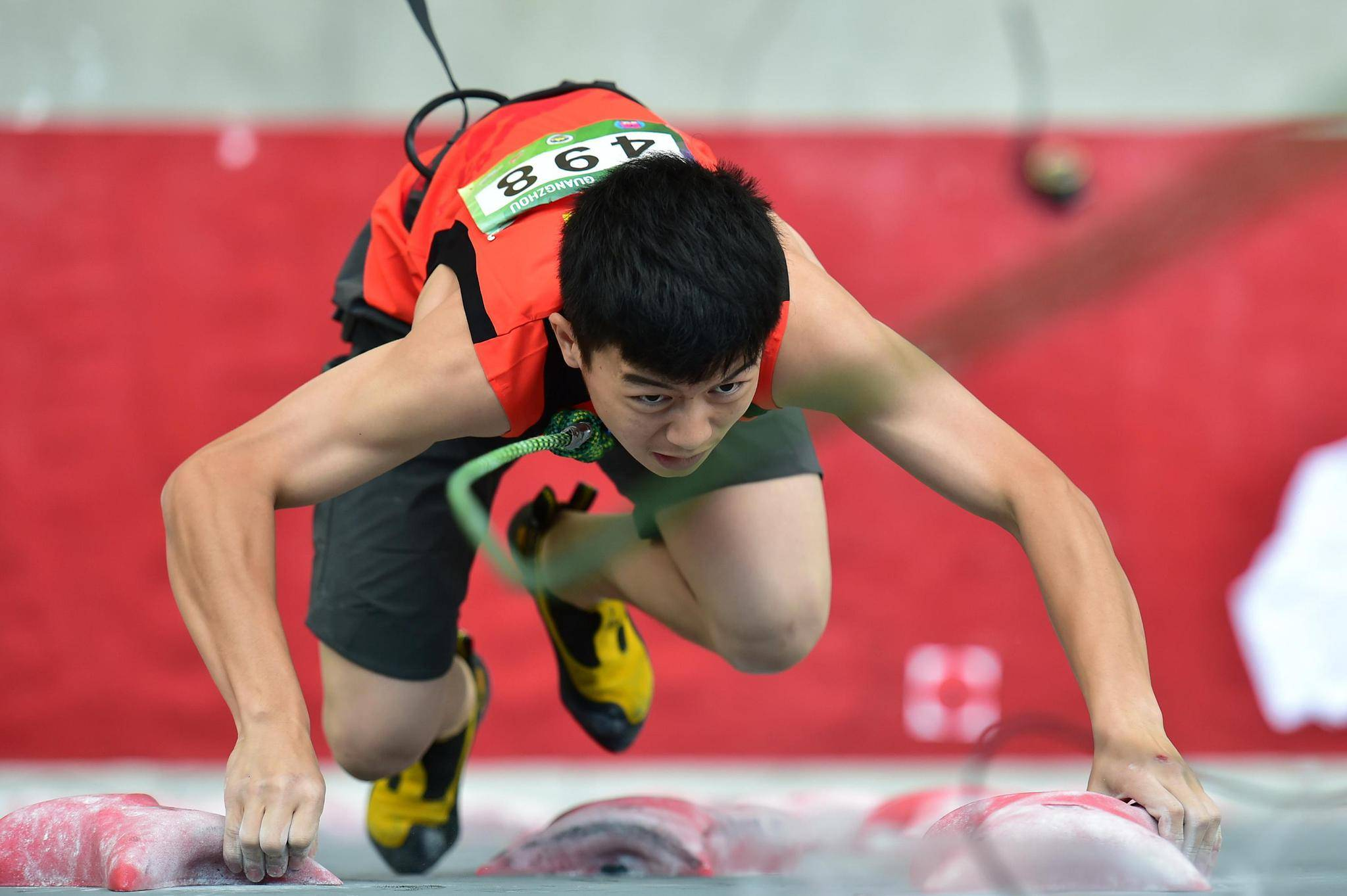 疫情难阻中国攀岩冲击奥运速度 这支新军已准备好
