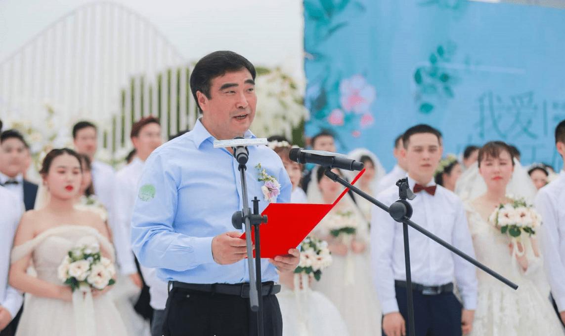 """盘子女人坊520集体婚礼为抗疫英雄记录美好——""""疫""""后余生,全都是你"""