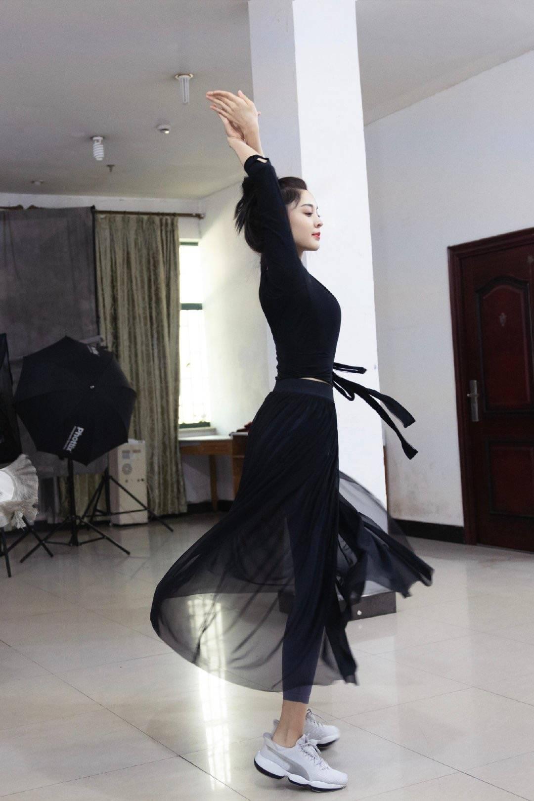 舞蹈的古力娜扎,实在太太太漂亮了!