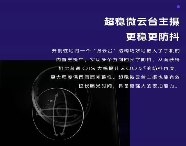 微云台超防抖 vivo X50系列首发