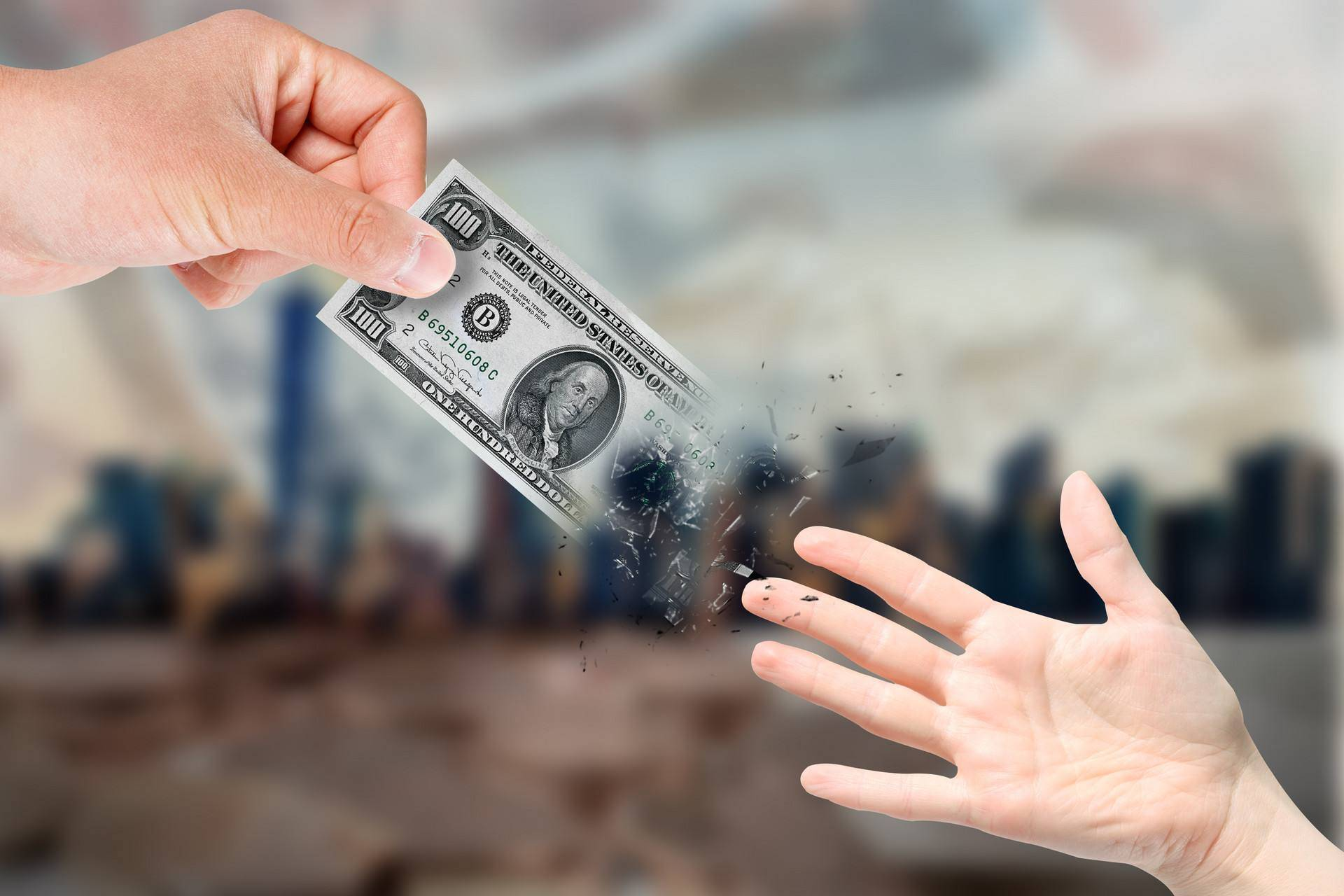2020财年,美国财政收入高达7.34万亿美元,占GDP比重为33%