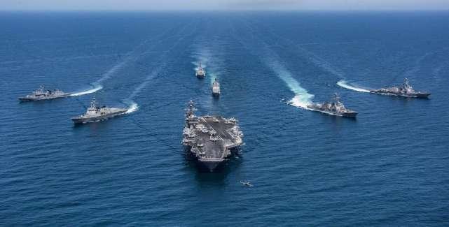 <strong>美军主动进行挑衅,罗斯福号航母正前往菲律宾</strong>
