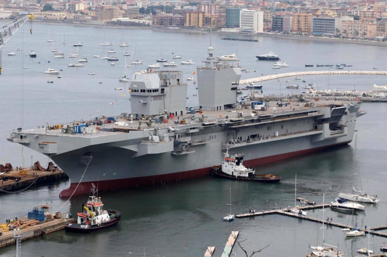 """明明拥有三艘""""航母"""",却从不张牙舞爪,意大利军事力量弱吗?"""
