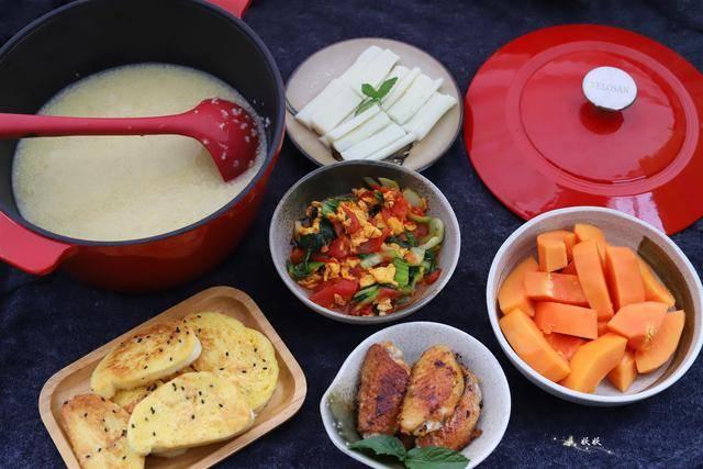 原创             丰盛营养的中式早餐,吃着管饱又解馋,我家隔三岔五就这么做