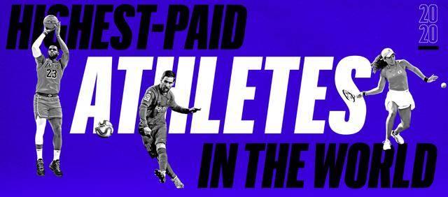一年挣7亿多,费德勒力压C罗梅西,位列全球体坛明星榜首