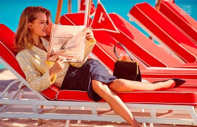 就要勇敢放肆穿!俄罗斯模特Kris Grikaite,19岁演绎多重气概