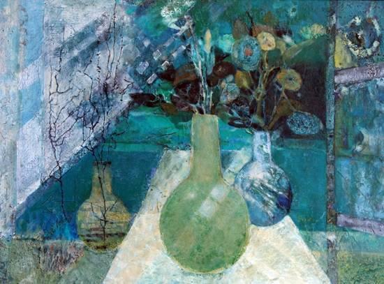 发掘丹培拉绘画之美 �造东方写意神奇――走进留法女画家孙路的坦培拉艺术世界