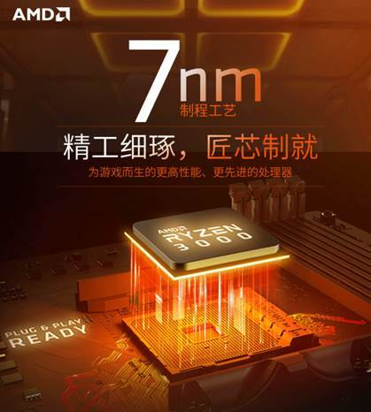 匠心制就电竞神U AMD锐龙7 3700X