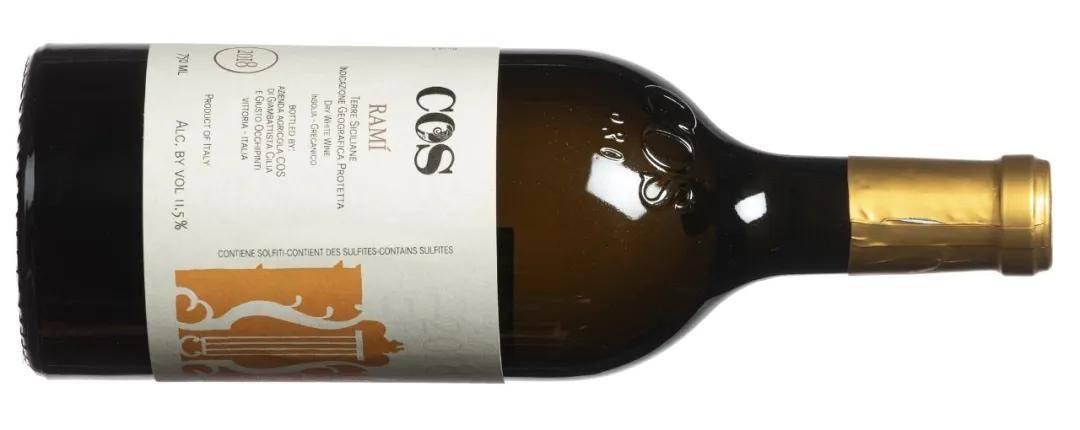 COS酒庄西西里之地(Terre Siciliane)Ramí 干白2018年份