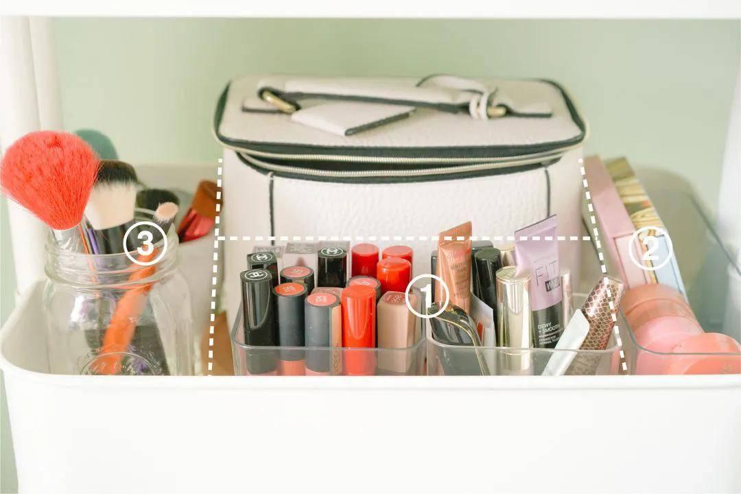 家里的化妆品乱到被老公吐槽,该怎么收纳自救?