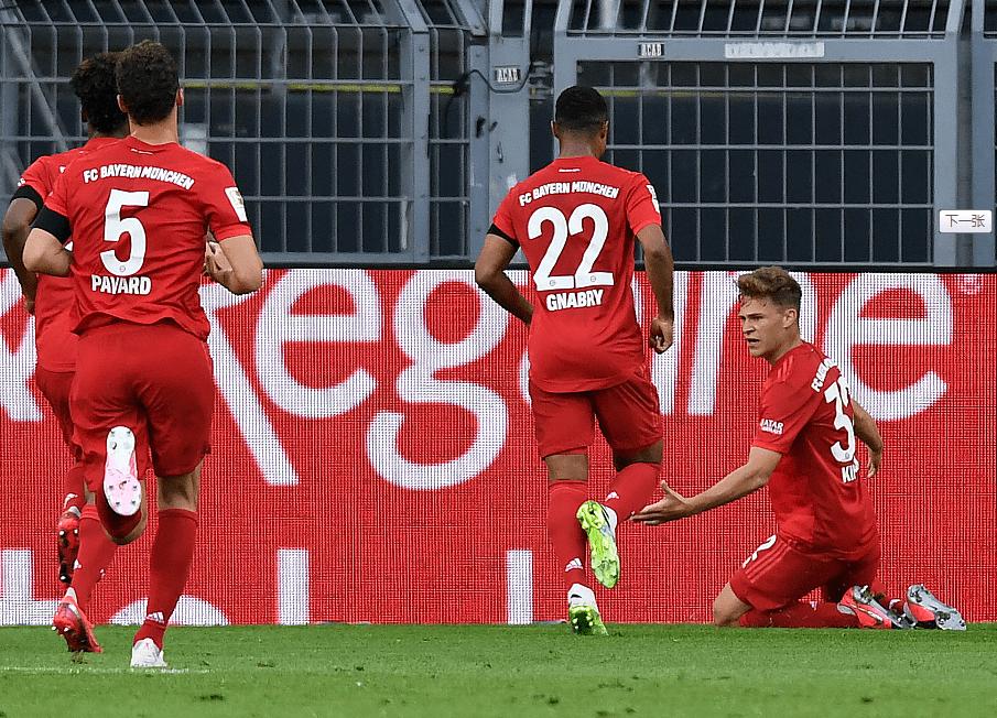 拜仁赛季5大战役:1-5惨败成转折 双杀多