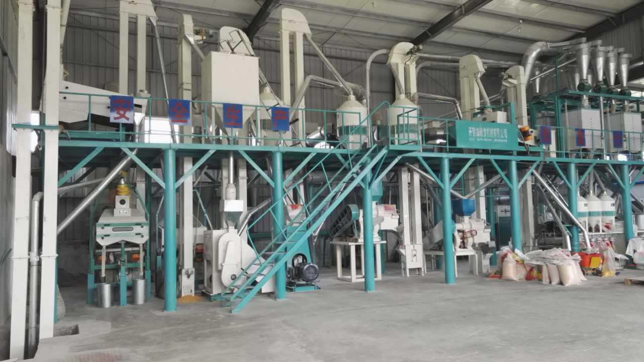 玉米深加工设备在玉米加工过程中做什么静音保护