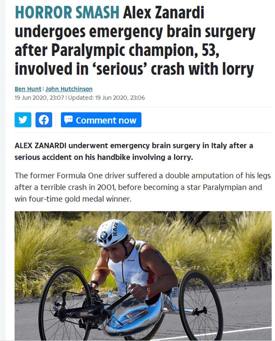 悲催奥运会冠军 赛事中重挫头顶部术后仍不省人事 职业生涯第三次遭受致命性受伤