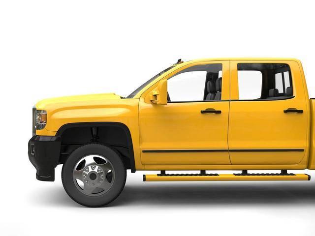 黄海长轴货运皮卡车上市,车型饱满美观,四驱版动力更强