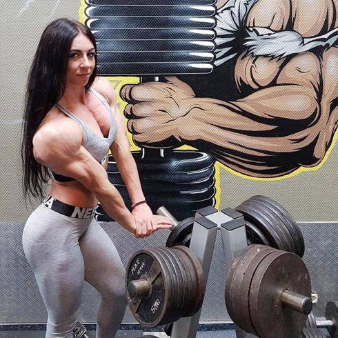 体重69公斤的肌肉妹子,肌肉质感完美,出场便秒杀大部分男人 减肥方法 第5张