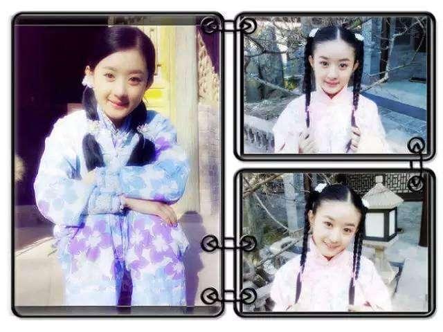 看到赵丽颖8岁演出照,才知啥叫天生丽质