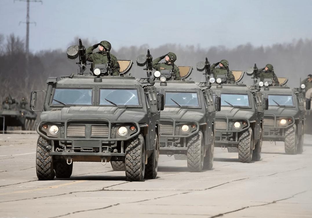 名气不大实用性强,俄罗斯精品力作,虎式装甲车你