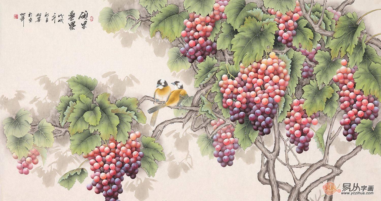 在中国传统绘画中