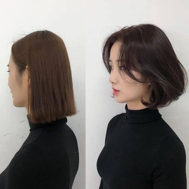 LISA也剪了!2020年韩国锁骨短发推荐,过渡期烫发发型特搜