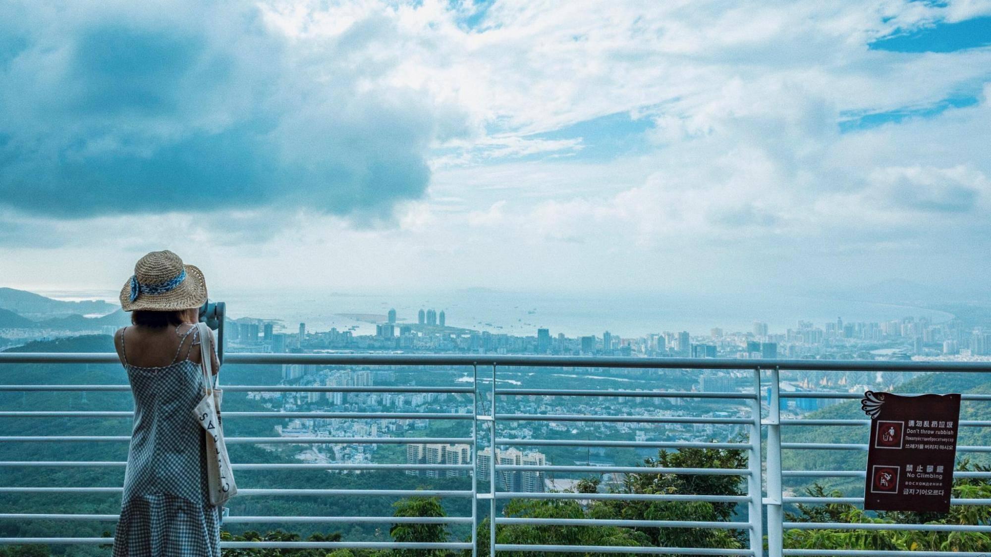 三亚有一座爱情圣山,俯瞰三亚城的最佳去处,国家4A景区门票106