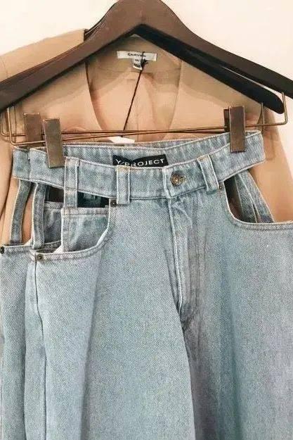 今夏流行的裤子,专治各种小粗腿!