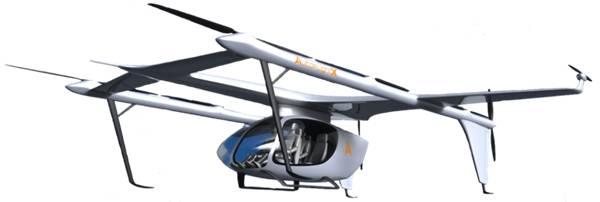 实力见证峰飞航空eVTOL亮相世界人工智能大会