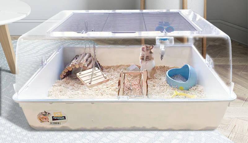 """你给仓鼠住的笼子真的是""""别墅""""吗?最全面的仓鼠笼选购攻略 (图13)"""