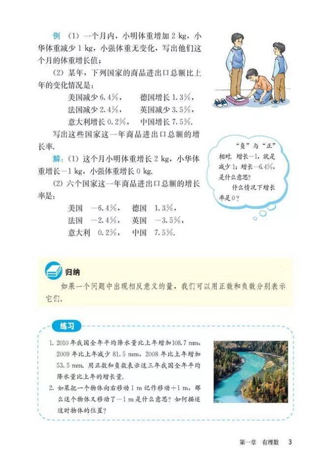 人教版初中数学七年级上册|电子课本(高清版)(图9)