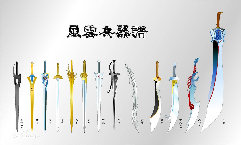 """风云漫画,""""天罪""""的材质一般,为什么能位列屠龙七大武器之一?_神兵"""