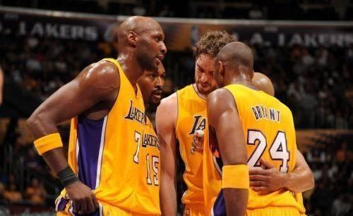 NBA湖人队总冠军成员奥多姆病危(组图)