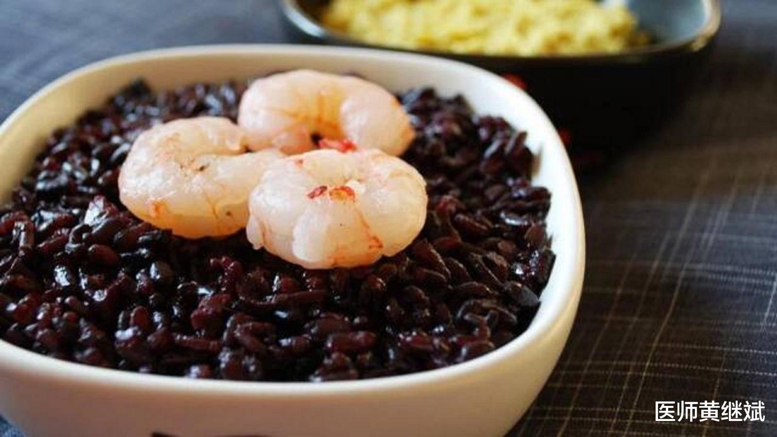 同为米中极品,有补气益血之效,黑米和紫米的区别在哪?