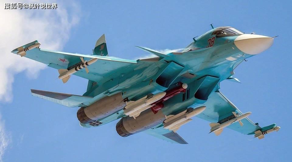 """致命的地狱鸭:苏-34比号称""""炸弹卡车""""的歼-16更加强悍"""
