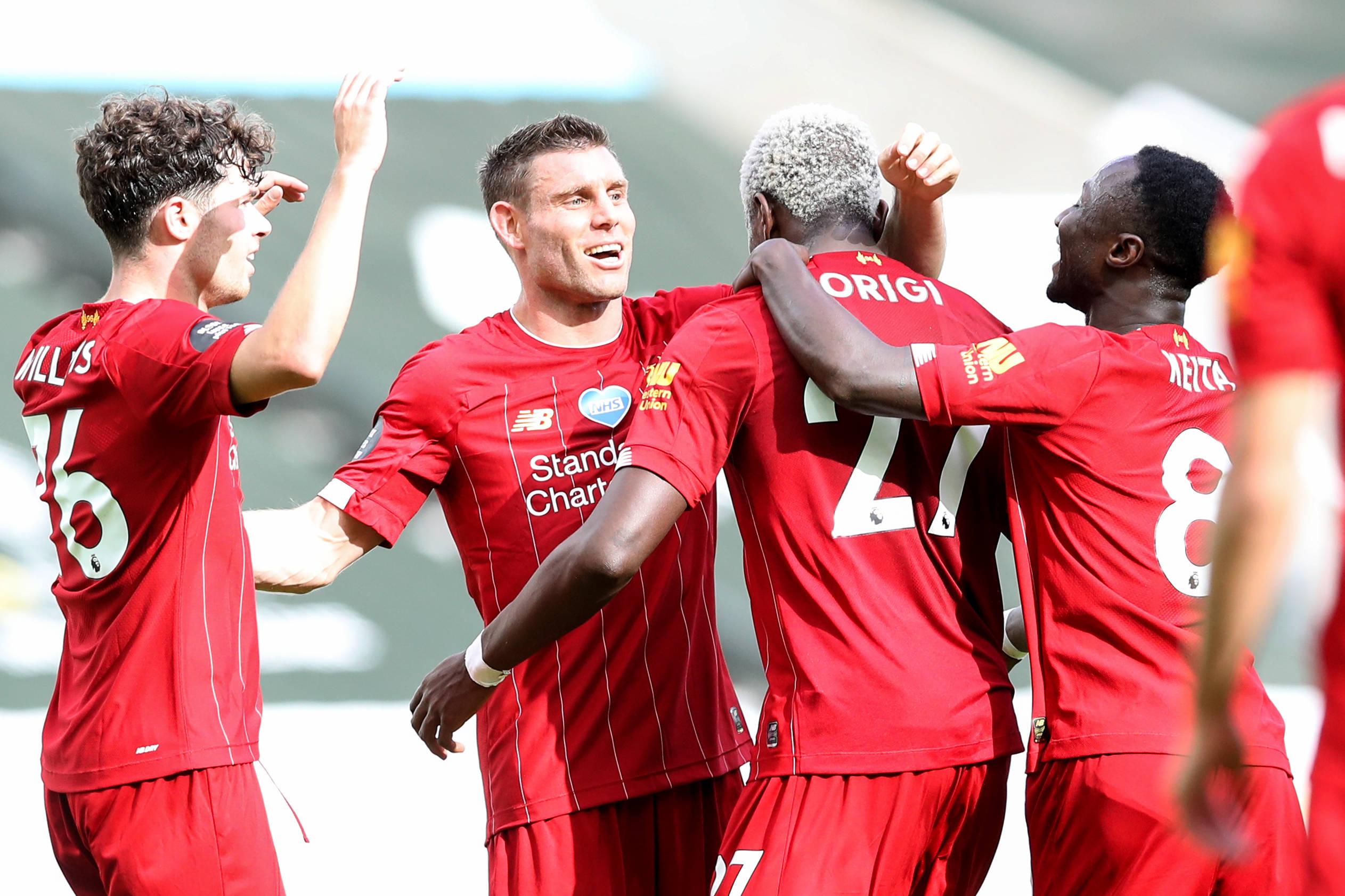 单赛季32胜!利物浦平曼城英超纪录 创队史最高分