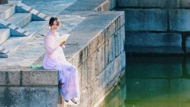 颜值回春!郑爽颐和园再穿古装仙气飘飘美若古代公主