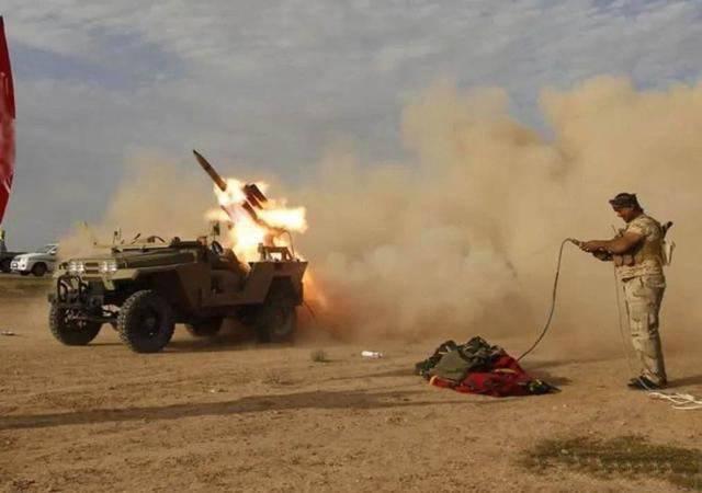 多枚火箭弹偷袭美军基地!武装分子突然出手!