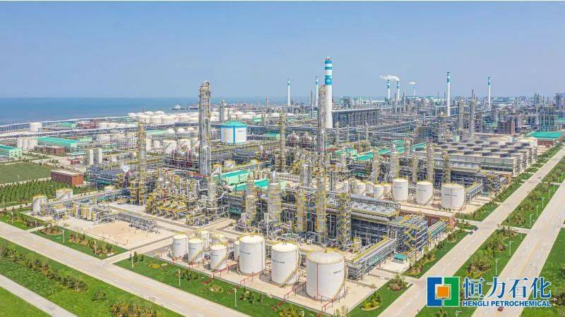 恒力石化上半年盈利55.17亿元创历史新高 全球最大乙烯项目全面投产