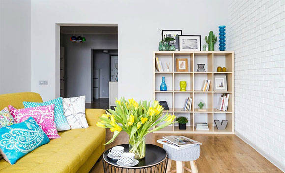 """她家装修""""脑洞大开"""",将两房改成一房,全屋设计简洁却特别舒服"""