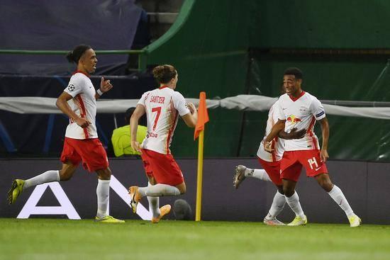欧冠-莱比锡88分钟绝杀2-1马竞 半决赛将战巴黎