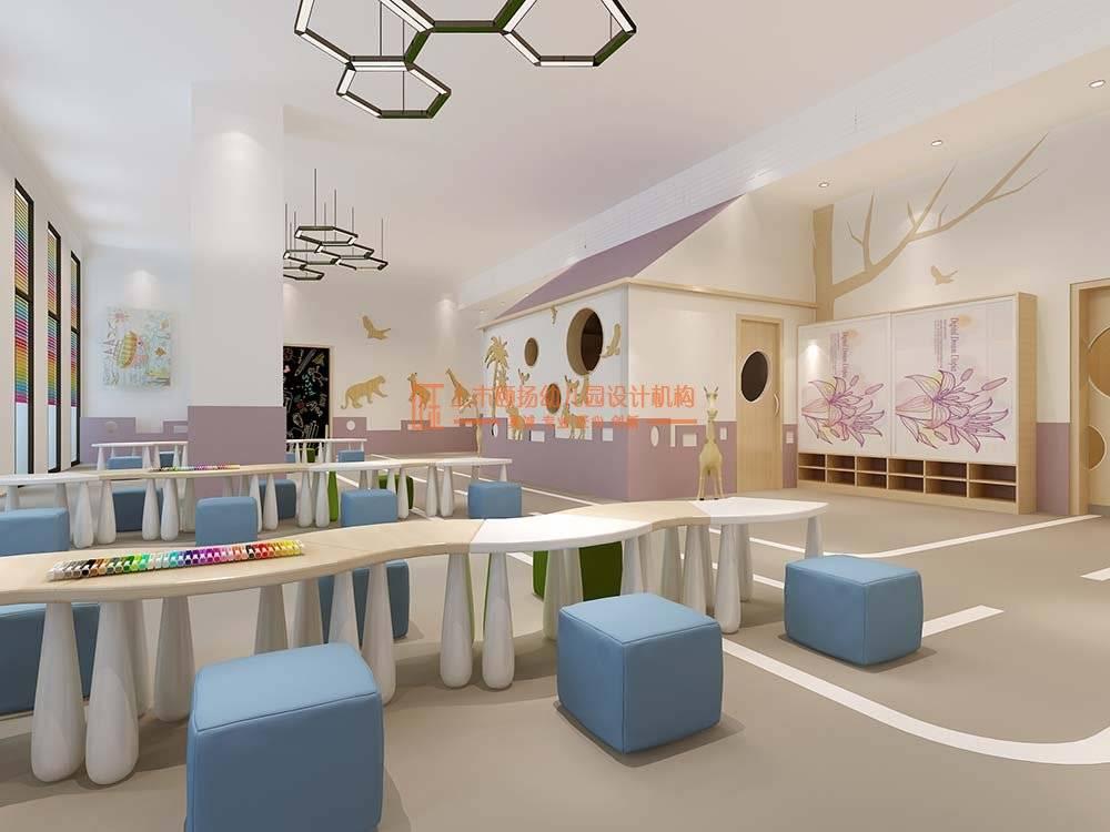 ?在选择幼儿园时,幼儿园的装修设计是第一印