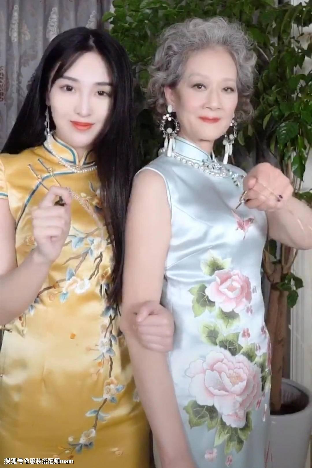 佩服这位72岁奶奶!打扮比孙女还靓丽抢眼,满头白发也难掩她的美