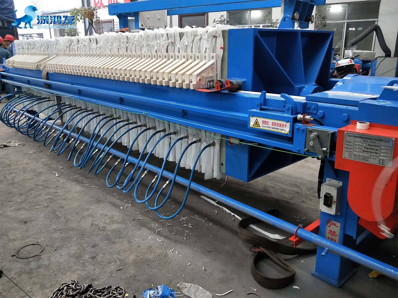 隔膜压滤机工作原理与流程
