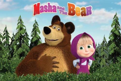 """""""战斗民族""""俄罗斯做动画却很可爱,与熊搏斗画风差太多观众不敢信"""