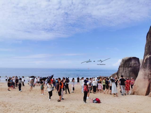 """游客想知道:为什么三亚""""天涯海角""""只能看到"""