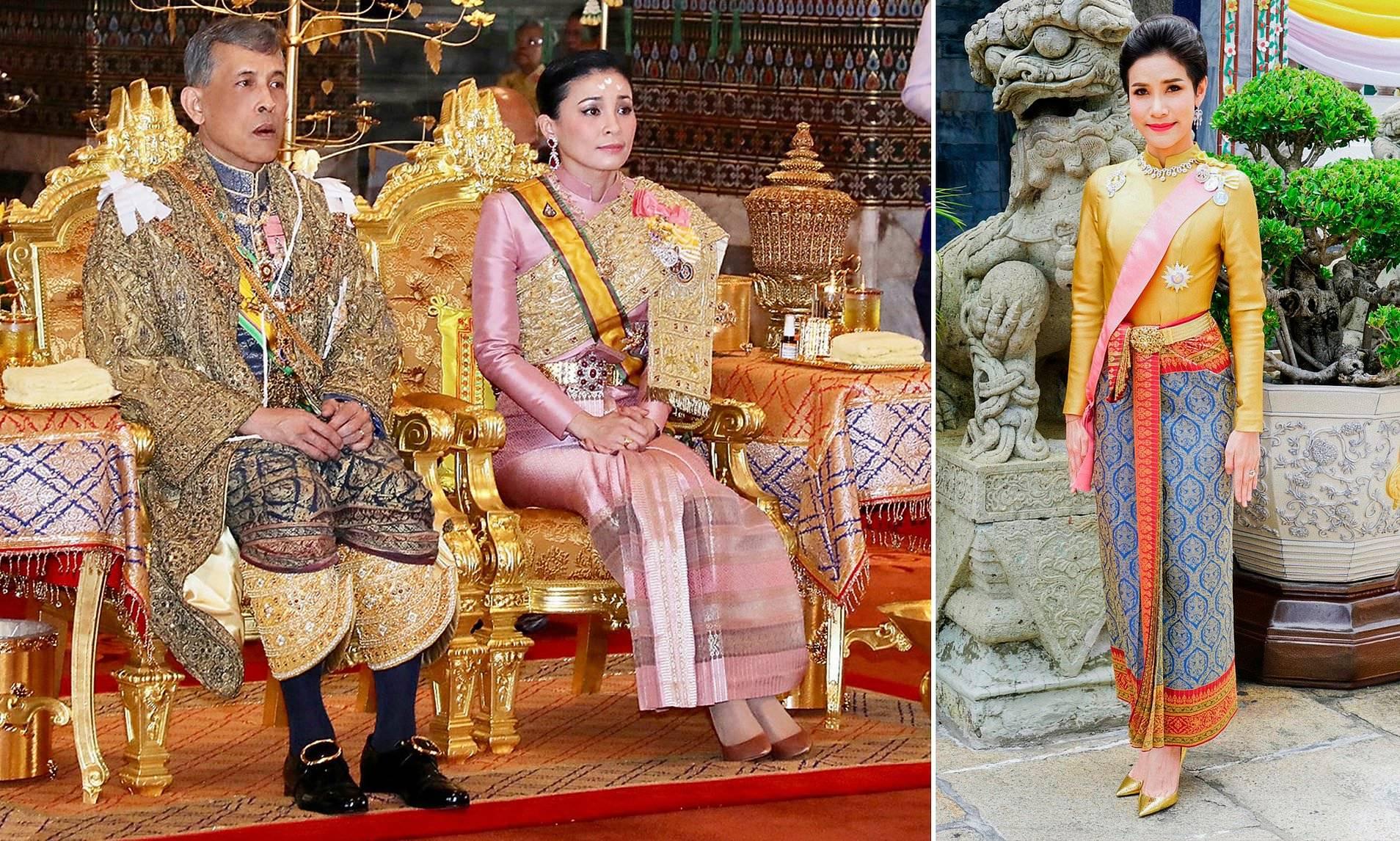 泰国王室宫斗新剧情!诗妮娜贵妃出狱去德国重新得宠,王后悲剧了_苏提达