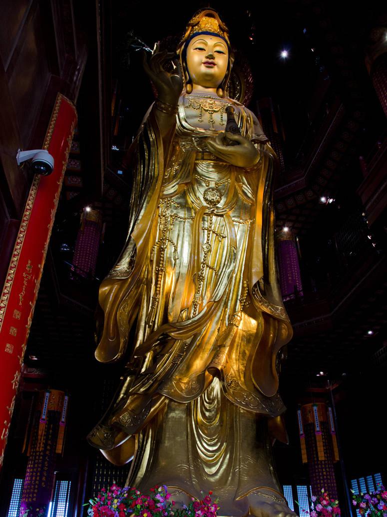 """江苏苏州""""最低调""""的寺庙,被誉为""""水天佛国"""",知道的游客不多"""