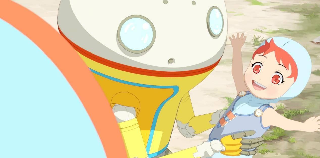十月新番《伊甸》没有人类的地球上 两个机器人偷偷抚养一个人类女婴