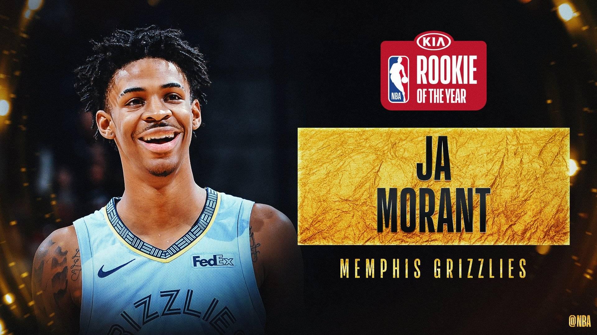 NBA官宣莫兰特当选最佳新秀 纳恩排第二锡安NO.3