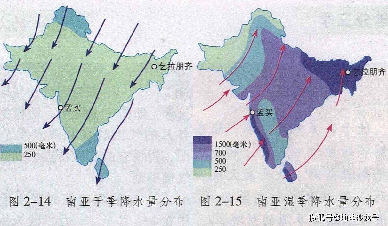 原创             南亚印度河流域的塔尔沙漠,为什么西南季风难以影响到这里?