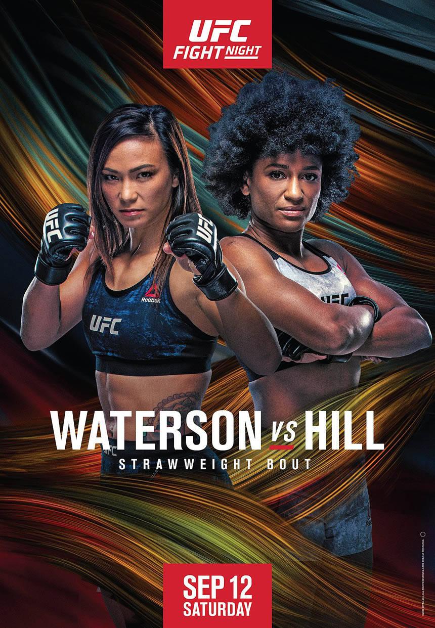 UFC格斗之夜177导视 沃特森将对决希尔